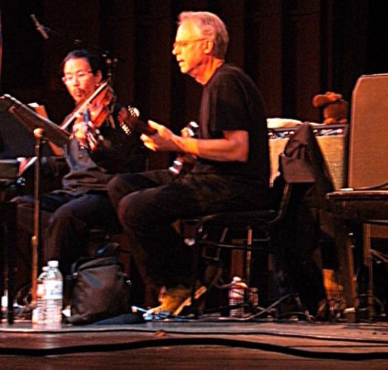 Bill Frisell brings his extraterrestrial sound to Stanford. - DEAN SCHAFFER