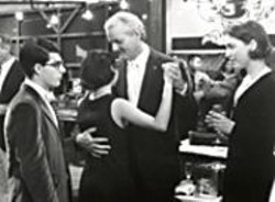 VAN  REDIN - Bill Murray, twinkle toes, in Rushmore.