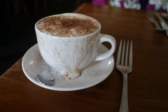 Bistro Central Parc's cappuccino