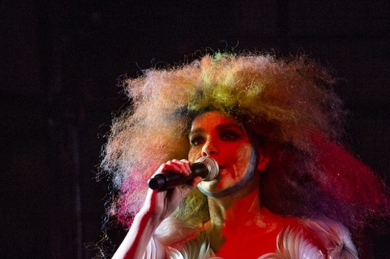 Bjork in Richmond. - PAIGE PARSONS
