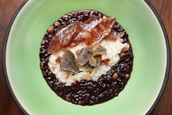 LARA HATA - Black and white rice looks as good as it tastes.