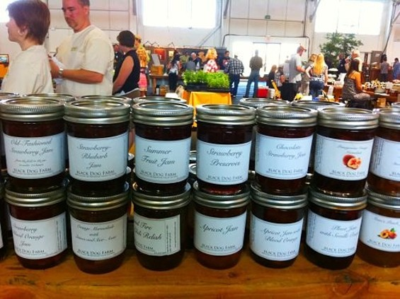 Black Dog Farm's jams and preserves range from the mundane to the quirky. - SEAN TIMBERLAKE