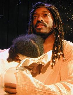 """Black Jesus (David Westly Skillman) moonwalks whenever someone sings """"Billie Jean."""""""