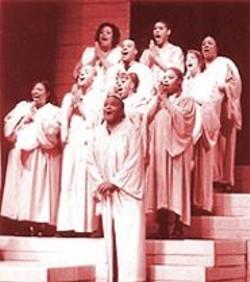 ADRIAN  ORDENANA - Black Nativity Choir.
