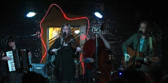 Black Prairie at Bottom of the Hill on Friday