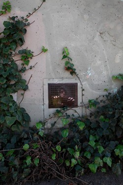 IMAGE COURTESY OF DAN WITZ. - Black Rubber Mask (SF).