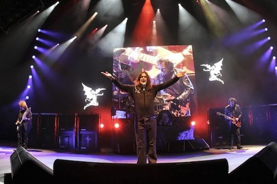 Black Sabbath at Shoreline last night. - CHRISTOPHER VICTORIO