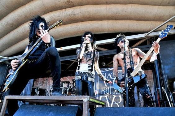 Black Veil Brides at the Warped Tour - CALIBREE PHOTOGRAPHY