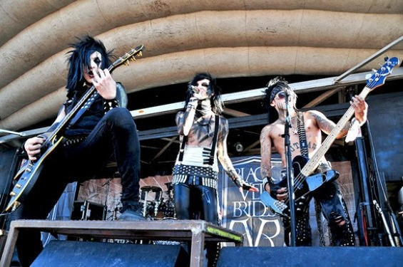 Black Veil Brides at the Warped Tour - CALIBREE PHOTOGRAPHY