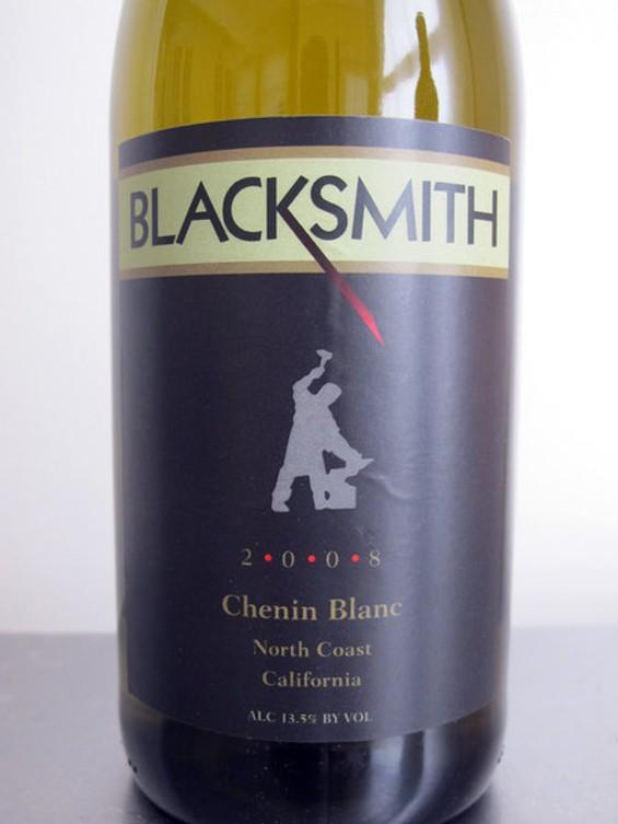Blacksmith Cellars' chenin blanc: Drink local. - LOU BUSTAMANTE
