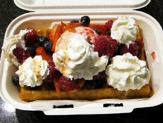 Bloem's Very Berry Belgian waffle - LUIS CHONG