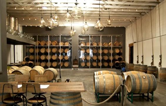 Bluxome Street Winery's pretty main room. - JENN PRIES