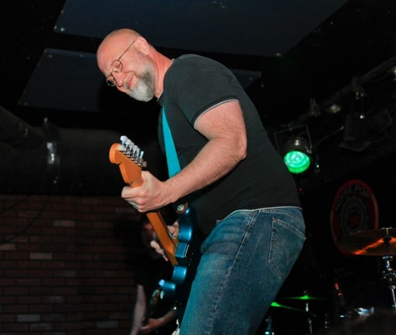 Bob Mould at Bottom of the Hill on Friday - IANN IVY