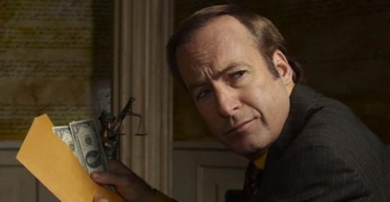 Bob Odenkirk as Saul Goodman on Breaking Bad