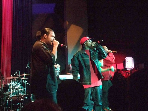 Bone Thugs-n-Harmony at Yoshi's. - TAMARA PALMER