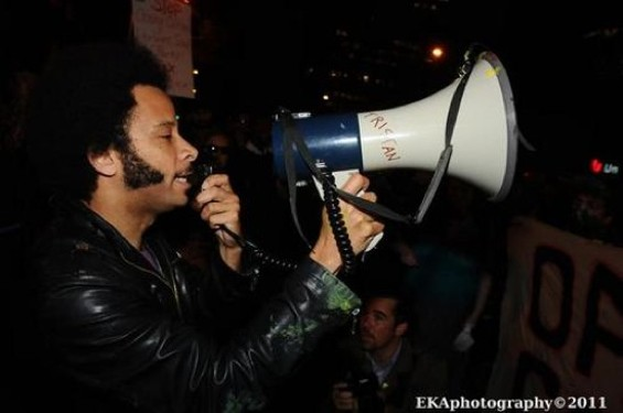 Boots Riley at Occupy Oakland - VIA EKA PHOTOGRAPHY