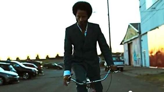 "Boots Riley in The Coup's ""The Magic Clap"" video. - ANTI RECORDS"