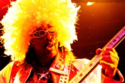 Bootsy Collins at the Indpendent