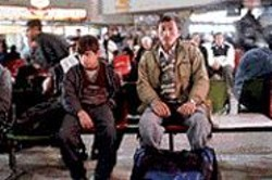 Border Crossing: Jamal (Jamal Udin Torabi) - and Enayat (Enayatullah) seek asylum in - London.