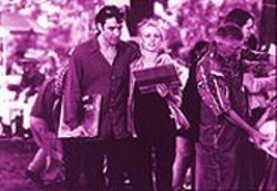 MELISSA  MOSELY - Born to Play This Role: John Cusack (with Iben Hjejle) in High Fidelity.
