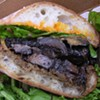 Gather's Braised Mushroom Sandwich