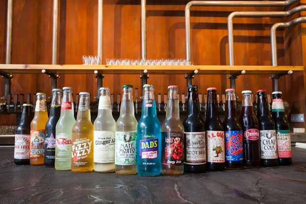 Brewcade's sodas come from The Fizzary. - JASON BACKRAK