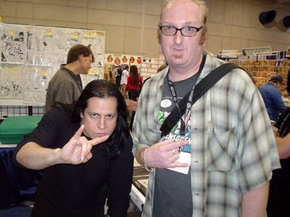 Brian with legendary comedian Andrew Dice Clay