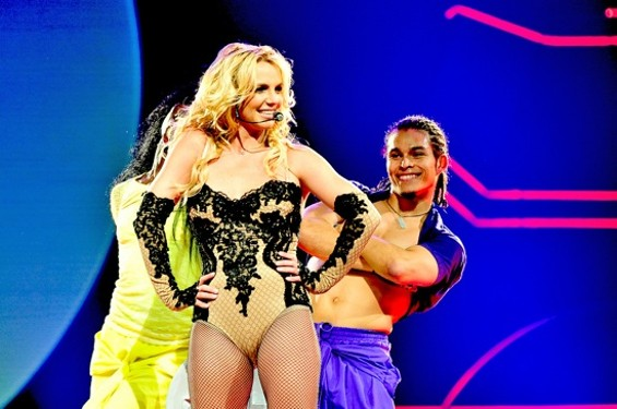 Britney Spears at HP Pavilion on Saturday - CALIBREE PHOTOGRAPHY