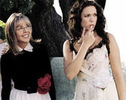 SUZANNE  TENNER - Broadly Speaking: If Diane Keaton were your mom, would you listen to her dating advice? Mandy Moore would.