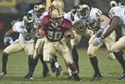 JOHN  TODD - Bruised at the Emerald Bowl.