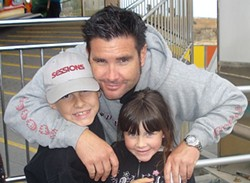 Bryan Stow and his kids