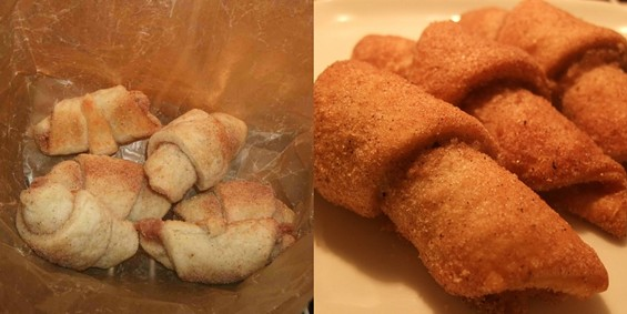 Bubala's Rugelach (left) and CiCi's Italian Butterhorns. - TAMARA PALMER