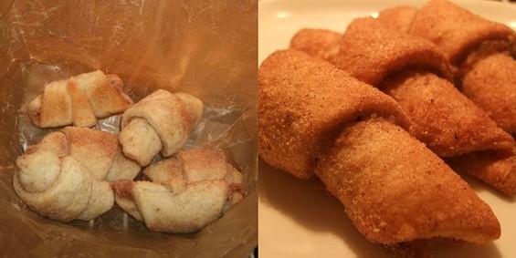 Bubala's Rugelach (left) and CiCi's Italian Butterhorns. - TAMARA PALMER
