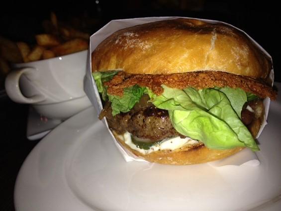 Burger by Naked Lunch. - TAMARA PALMER