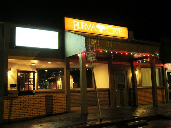 Burma Cafe serves up all the usual menu items in a handsome setting. - LUIS CHONG
