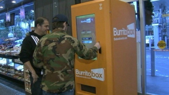 Burrito hunting in the urban setting. - ABC NEWS