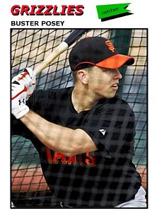 Buster Posey has done a lot of damage with his bat this year. Usually, he feels better about it.