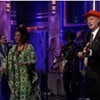 "Watch: David Byrne and the Atomic Bomb Band Play William Onyeabor's ""Fantastic Man"" on the <i>Tonight Show</i>"