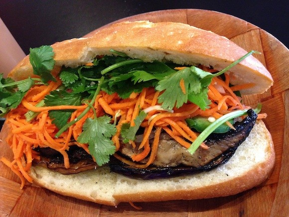 Café Bunn Mi's Smokey Vegetable Banh Mi - TREVOR FELCH