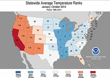 2014 Could Be the Hottest Year in California