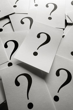 Can you answer me our questions three? Okay, it's just one question. But it's hard!