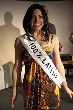 CHESHIRE ISAACS - Carlye Pollack as aspiring pop star Hanan.
