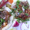 El Gallo Giro's Carnitas Tacos