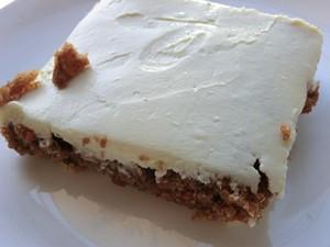 Carrot Cake: It's what's for breakfast. - ALEX HOCHMAN