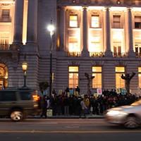 March Against Muni: Anti-Muni Protest @ City Hall