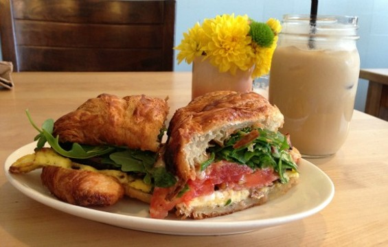 Cassava's beloved breakfast sandwich is staying on the menu. - JOSH LESKAR