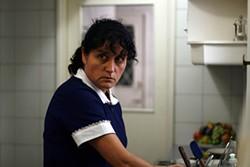 Catalina Saavedra, as Raquel, exudes a troll-like presence.