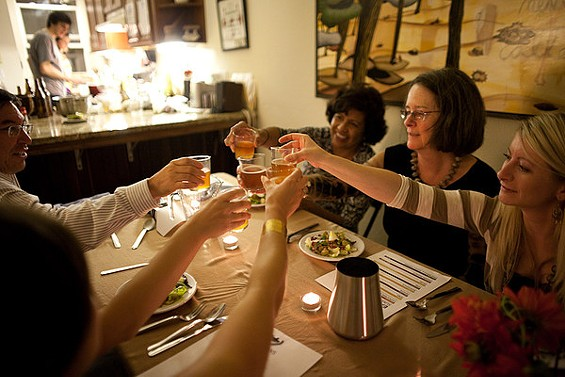 Cheers! See the Winter Homebrew Dinner, Sun., Mar. 13. - EATING ABOUT BEER