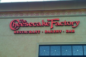 Cheesecake Factory: Restaurant. Bakery. Bar. Way of life. - WESLEY FRYER/FLICKR