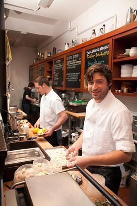 Chef Michael Mauschbaugh at Sugarlump. - LARA HATA